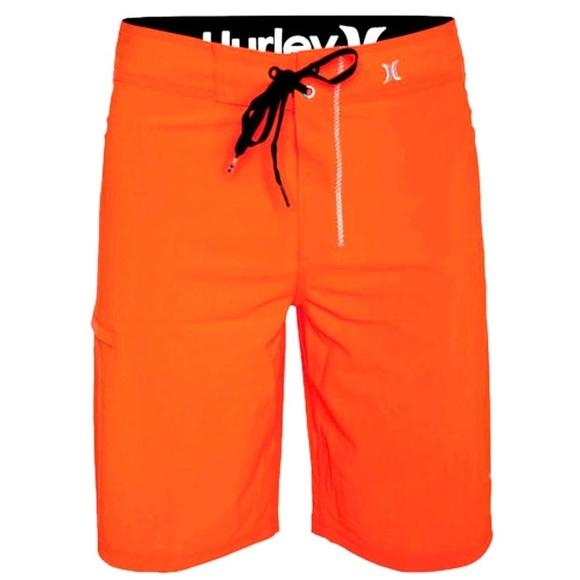 c2440249b856a Hurley Swim   Orange Phantom Boardshorts Trunks Volley   Poshmark